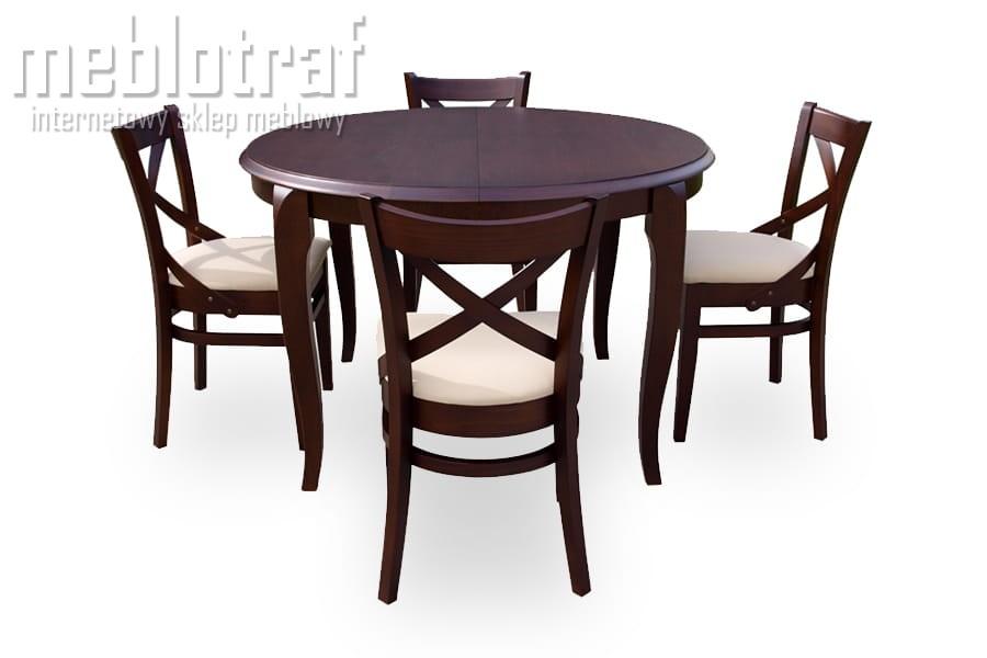 Stół Rozkładany Maxim ø 100 200 Meblotrafcompl